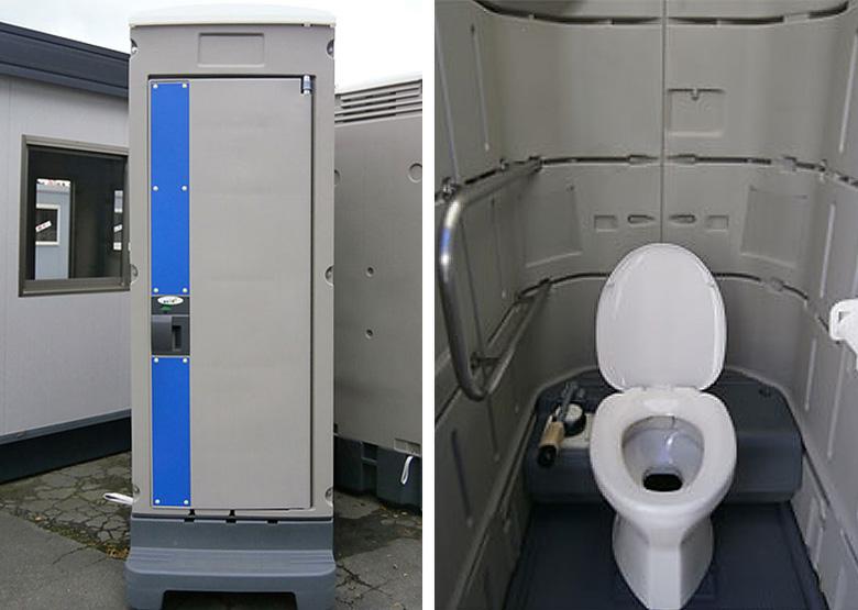 新品アウトレット仮設トイレユニットエコットトイレ簡易水洗トイレ